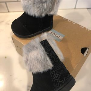 Toms Nepal Boot - infant size 2